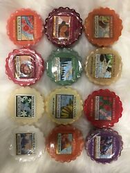Yankee Candle World Journeys Very Rare Tart Collection New And Fast Free Shipping