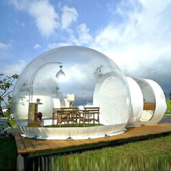 3m Bubble Tent Luxury Inflatable Eco Home Tent House Outdoors Camping+air Blower