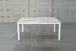 Table With 1 Or 2 Extending, Base Metal, Plan Glass Extra Light