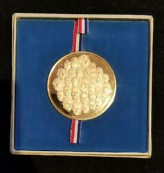 1975 Franklin Mint Bicentennial Medal By Gilroy Roberts - 30 Famous Americans