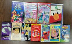 Lot Of 11 Vhs Tapes Assorted Movies Children Kids - My Little Pony Disney  7
