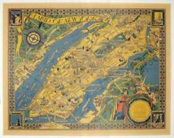 New York New York City / Map Of New York Chart Neither Too Literal Nor Too