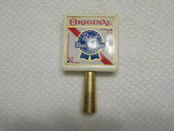 Vintage Pabst Blue Ribbon Original Tap Handle. 4.5 Inches Tall