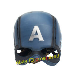 Cattoys 1/1 Life Size Captain America Wearable Cosplay Hemlet Collectible