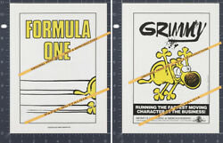 Grimmy__original 1989 Trade Print Ad / Advert__promo__mother Goose And Grimm__tv