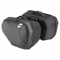 Pair Of Side Panniers Kappa Ra314 Easylock Thermoformed - 17 L