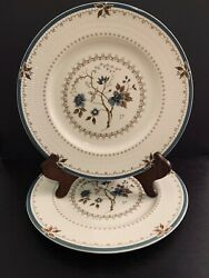 Vintage Royal Doulton Old Colony Tc1005 10 5/8 Dinner Plate. Set Of 8. England.