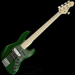 New Atelier Z M-265 D Plus Custom Tp-grn Electric Bass Guitar From Japan