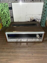 Pioneer Sx-636 Receiver Am/fm Stereo Receiver Has Cracked Glass In The Front