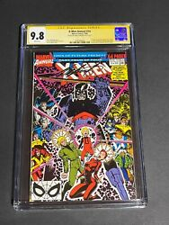 X-men Annual 14 - Cgc Ss 9.8 Signed Claremont First Gambit Cameo