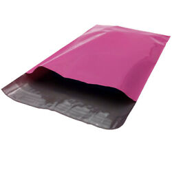 Pink 8800 19x24 Poly Mailer Plastic Envelopes Polybags Polymailer 2 Mil Bags