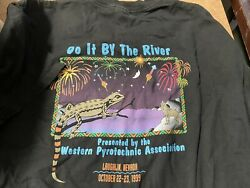 Do It By The River Western Pyrotechnic Association 1999 Wpa Laughlin T-shirt Xxl