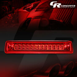 Red Dual Rows Led Third Brake Light Cargo Lamp For 2015-2018 Colorado / Canyon
