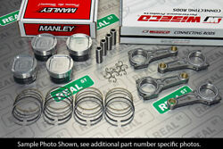 Manley Pistons Turbo Tuff E/d Wiseco Boostline Rods For Wrx Ej255 99.75mm 8.51