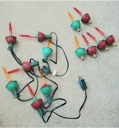 Vintage Bubble Lights Strand Christmas Tree With Replacement Lights