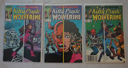 Kitty Pryde And Wolverine 1,2,6 Condition 8.0