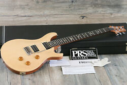 2008 Paul Reed Smith Custom 24 Double Cut Electric Guitar 10 Top Natural + Ohsc