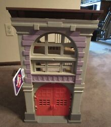 K72 Vintage 1980and039s Kenner Ghostbusters Firehouse Playset