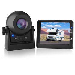 Wireless Magnetic Boat/trailer/camper Hitch Backup Rear View Camera+4.3 Monitor