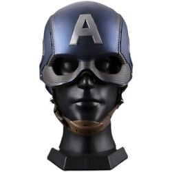 Killerbody 1/1 Life Size Captain America Wearable Cosplay Hemlet Collectible