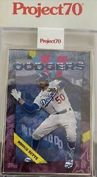 Mookie Betts - 2021 Topps Project 70 Card 1 By Ben Baller Proof 41/51