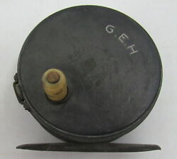 Rare Vintage Hardy Alnwick Patent G.e.h. Fly Fishing Reel England
