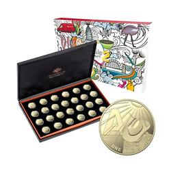 2021 The Great Aussie Coin Hunt 2 Proof Set - 26 X 1 Alphabet Coins
