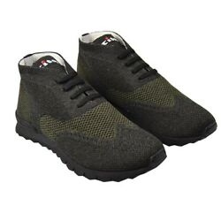 New Kiton Sneakers Shoes For Man Cotton And Ea Sz 12 Us 45 Eu Ksv19