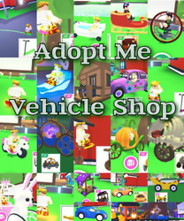 Adopt Me Vehicle Shop Over 35 roblox adopt me vehicles Quick delivery $14.00