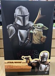 Hot Toys The Mandalorian And Child Star Wars Tms014 Mib Sideshow 906135