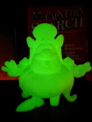 Ron English Signed Glow-in-the-dark 8-inch Capand039n Corn Starch Edition Of 100