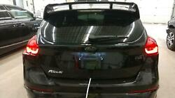 Tailgate / Trunk / Decklid For Focus Rs Blk Heat Wipe W-spoiler Less Camera