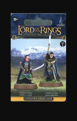 Middle Earth Strategy Battle Game Elrond And Gil-galad Gw Resin 05-60 Nib