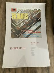 Vintage The Beatles Band Poster Please Please Me 1963 36 X 24 1987