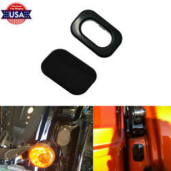 Black Antenna Hole Accent Filler Fit For Street Glide 2006-20 Road Glide 2010-20