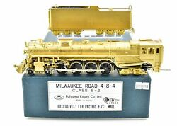 Ho Brass Pfm - Fujiyama Milw - Milwaukee Road 4-8-4 Class S-2 1981 Run