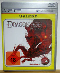 Ps3 / Sony Playstation 3 Game - Dragon Age Origins Platinum Boxed Usk18