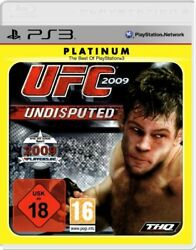 Ps3 / Sony Playstation 3 Game - Ufc 2009 Undisputed Platinum Boxed Usk18