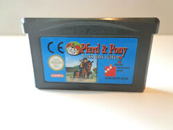 Nintendo Gameboy Advance Game - Pferd And Pony Lass Us Riding 2 Module Pal