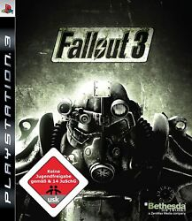 Ps3 / Sony Playstation 3 Game - Fallout 3 Boxed Usk18