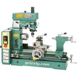 Grizzly G4015z 19-3/16 3/4 Hp Combo Lathe/mill