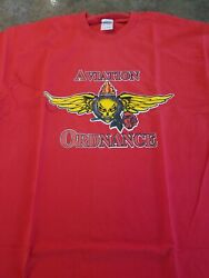 Us Navy Aviation Ordnance Shirt Xl