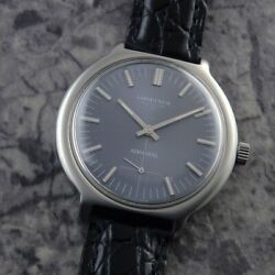 Longines Admiral Small Second Original Dial Manual Vintage Watch 1972and039s