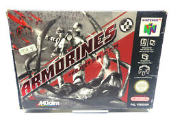 N64/nintendo 64 Game - Armorines Project S. W. A. R.m. Boxed Pal 11328544