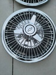 Vintage Chevy Wire Spinner Hubcaps