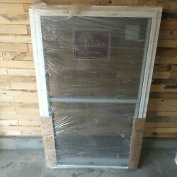 White Bm Double Hung 36x55 Replacement Window
