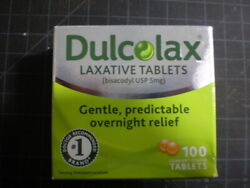 2 Pack Dulcolax 5mg Laxative 108 Tabs Total Exp 6/2023+ Free Shipping