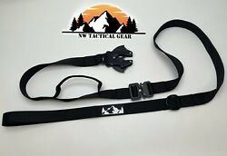 Nw Tactical Dog Leash - Heavy Duty Load Bearing Quick Connector Release Buckle