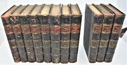 11 Volumes Antique Books Illustrated 1844 Lives Queens England Strickland