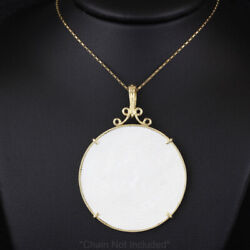 Antique 14k Gold Chinese Gaming Chip Pendant